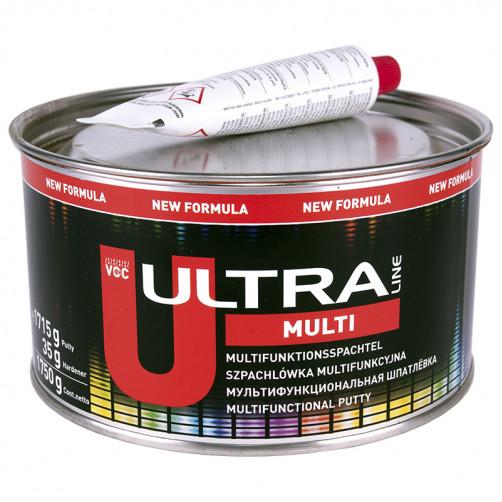 Шпатлевка полиэфирная автомобильная NOVOL ULTRA MULTI универсальная, уп.0,8 кг