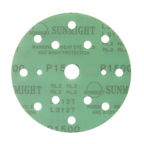 Sunmight Film шлифовальный диск D-150 мм, 15 отв., P800