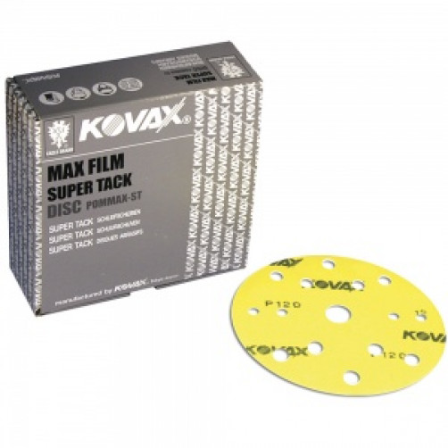 Kovax, P80   Абразивный круг Max Film 152 mm   15 отв
