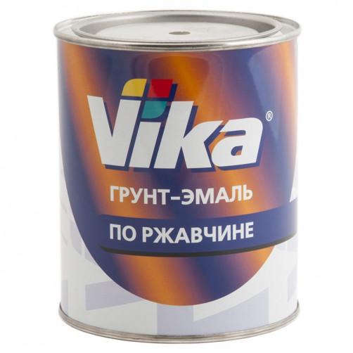 """Грунт-эмаль по ржавчине, Грунт-эмаль RAL 9005 черный янтарь, """"Vika"""" Вика, уп. 0,90 кг"""