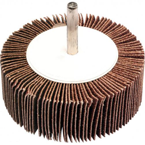 Круг лепестковый со шпинделем 80*30*6мм Р 80 alox