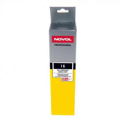 Шпатлевка акриловая однокомпонентная NOVOL 1К, уп. 0,2 кг