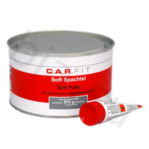 CF 2К Glas Шпатлевка полиэфирная стекловолокнистая C.A.R.FIT (Карфит) уп.1 кг