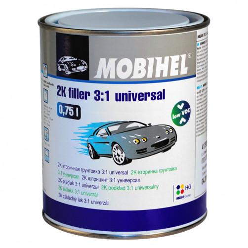 Грунт 2К вторичный 3+1 Универсал Low VOC Mobihel, уп. 0,75л (без отвердителя)