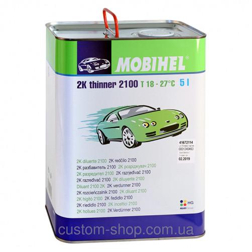 Разбавитель  2100 Mobihel, для 2К бесцв. лака, уп. 5 л