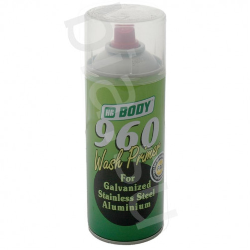 Аэрозольный грунт BODY 960 Wash Primer, уп. 0,4 л (спрей)