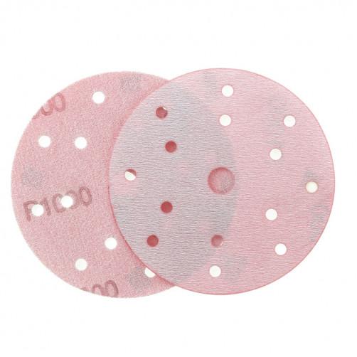 P1000 Абразивный круг IFILM Red ISISTEM, D=150мм, 15 отверстий