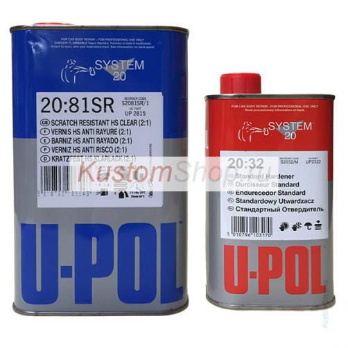 U-POL S2081SR лак автомобильный HS повышенной прочности 1+0,5 л