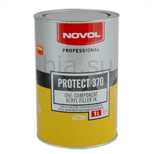 Грунт акриловый автомобильный NOVOL Protect 370 (1К), однокомпонентный, уп. 1л