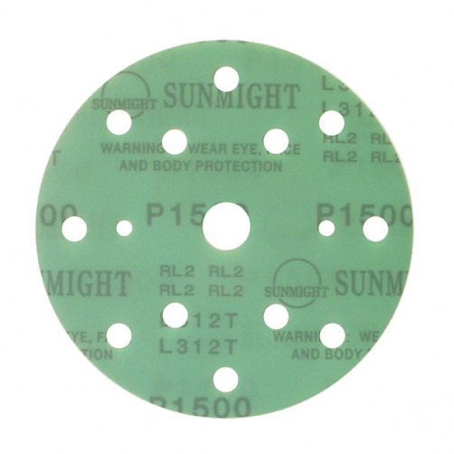 Sunmight Film шлифовальный диск D-150 мм, 15 отв., P1200