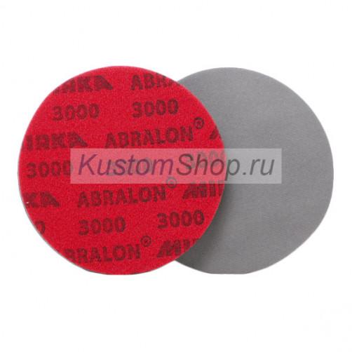 Mirka Abralon шлифовальный диск на поролоновой основе D-150 мм, P3000