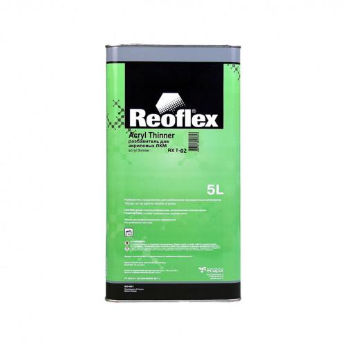 Разбавитель для акриловых ЛКМ Reoflex (медленный), уп. 5л