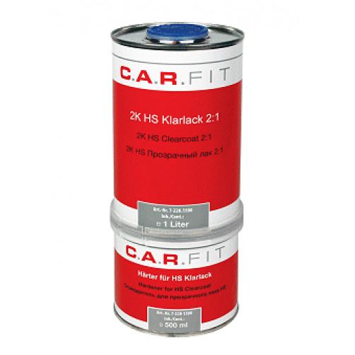 Car Fit лак автомобильный HS 1+0,5 л