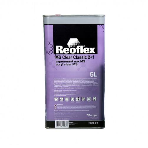 2К Лак акриловый автомобильный MS 2+1 Reoflex RX C-01 уп. 5л