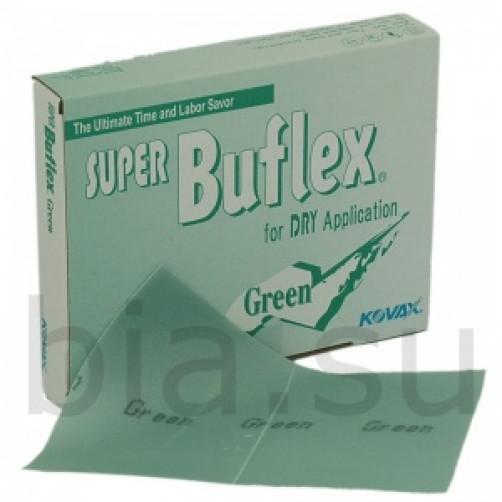 Kovax, Лист шлифовальный Super Buflex Dry Green K2000 170*130mm, на липучке