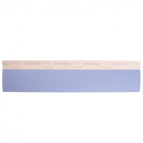 P120 Абразивные полоски SMIRDEX Ceramic Velcro, без отв, 70х420мм