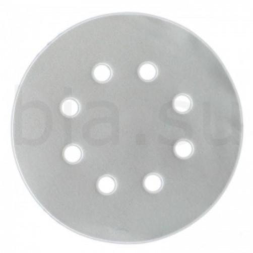 Абразивный шлифовальный круг SMIRDEX 510 White (Смирдекс), P400, D=125мм с 8 отверстиями
