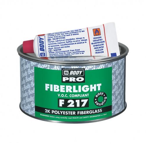 Шпатлевка 217 Fiberlight Proline зеленая Боди, уп. 0,5 л