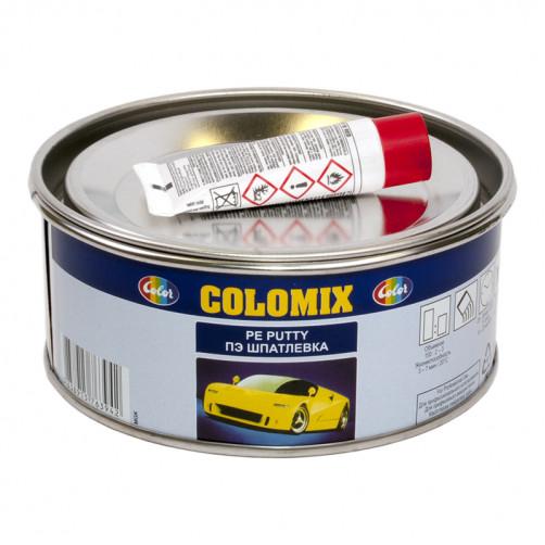 Шпатлевка автомобильная полиэфирная Colomix, уп. 0,5 кг