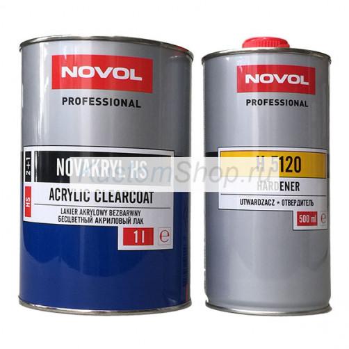 Novol лак автомобильный HS 1+0,5 л