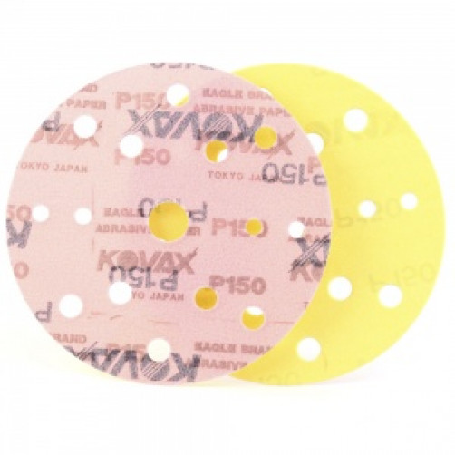 Kovax, P150 Абразивный круг Premium New 152 mm   15 отв