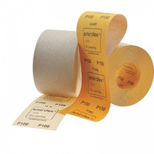 P120 Абразивная бумага в рулонах SMIRDEX 510 White, 116мм*50м