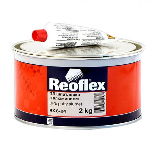 Шпатлевка с алюминием Reoflex Alumet RX S-04, уп. 2кг