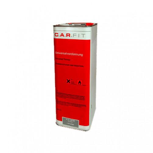 Car Fit разбавитель для акриловых авто ЛКМ, универсальный, 5 л