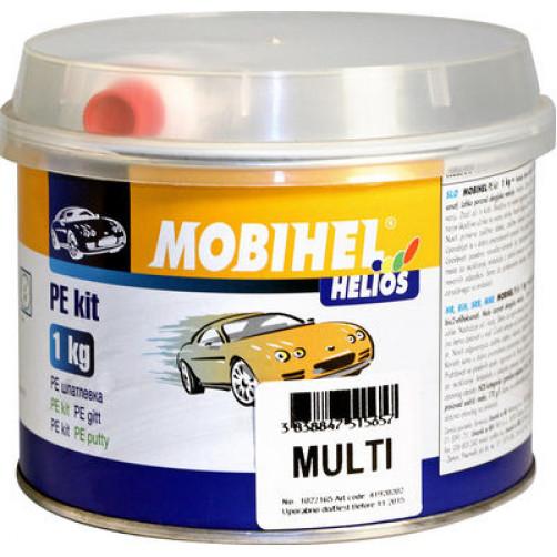Шпатлевка мелкая автомобильная полиэфирная, Mobihel Multi, уп. 1 кг