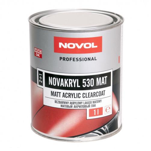 Лак NOVAKRYL 530 MAT матовый 2+1 Новол, уп. 1 л без отв.
