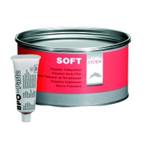 CARSYSTEM SOFT шпатлевка полиэфирная 1,8 кг