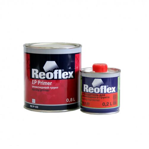 Грунт эпоксидный 2K Reoflex (серый) уп. 0,8+0,2л (комплект)