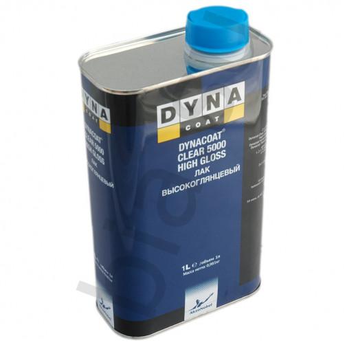Лак Dynacoat (Дайна) Clear 5000 Высокоглянцевый, уп.1 л