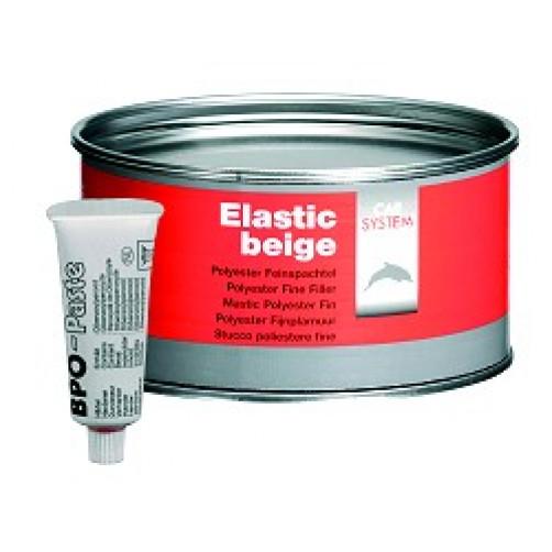 CARSYSTEM ELASTIC шпатлевка полиэфирная доводочная 1 кг