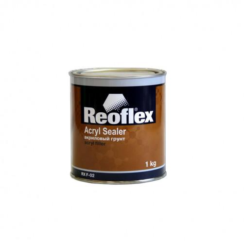 Грунт акриловый 1K Reoflex (серый) уп. 1кг