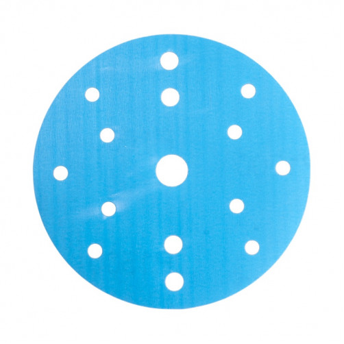 P 500 Абразивный круг SMIRDEX 830 Film Discs, D=150мм, 15 отверстий