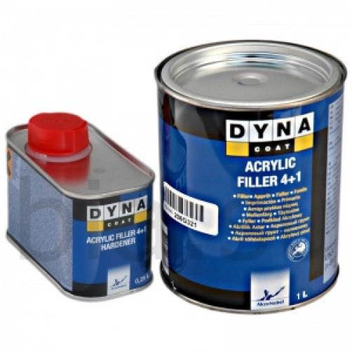 Комплект Грунт+Отвердитель Dynacoat (Дайна) Filler 4+1, уп.1+0,25л арт.ND00010+ND00012