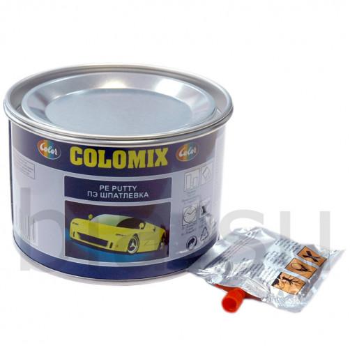 Шпатлевка автомобильная полиэфирная Colomix, уп. 1 кг