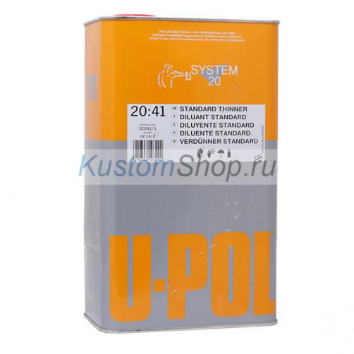 U-POL S2041 разбавитель для акриловых авто ЛКМ, стандартный, 5 л