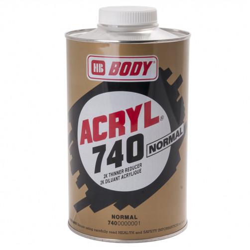 Acryl Normal 740 растворитель Боди, уп. 0,5 л
