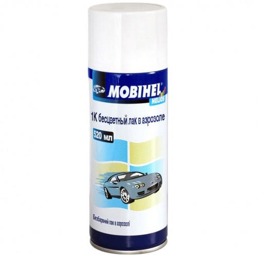 1К лак автомобильный аэрозольный Mobihel, уп 400мл