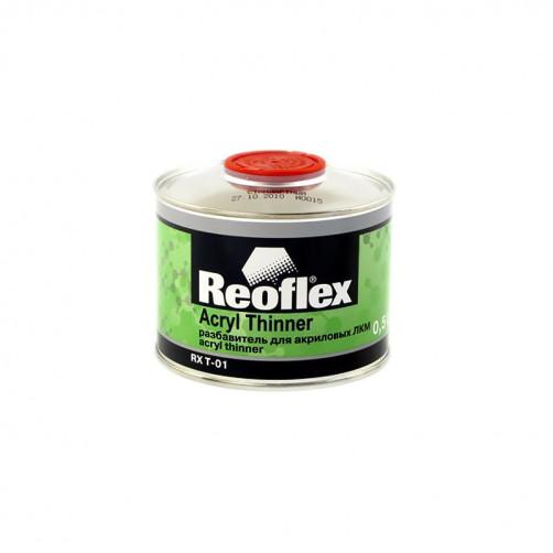 Разбавитель для акриловых ЛКМ Reoflex (стандартный), уп. 0,5л