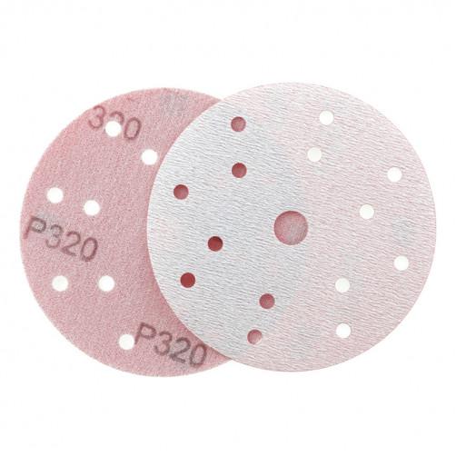 P 320 Абразивный круг IFILM Red ISISTEM, D=150мм, 15 отверстий