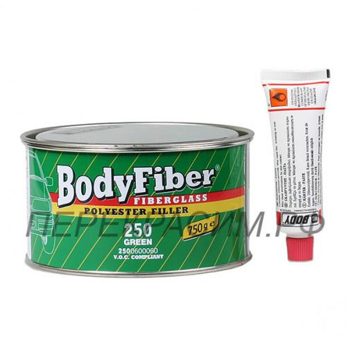 Body 250 FIBER шпаклевка со стекловолокном 1,5 кг