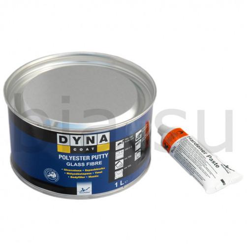 Шпатлевка Dynacoat (Дайна) усиленная стекловолокном Glass Fibre, уп.1,65 кг