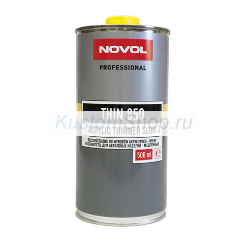 NOVOL THIN 850 разбавитель для акриловых автомобильных ЛКМ, 0,5 л